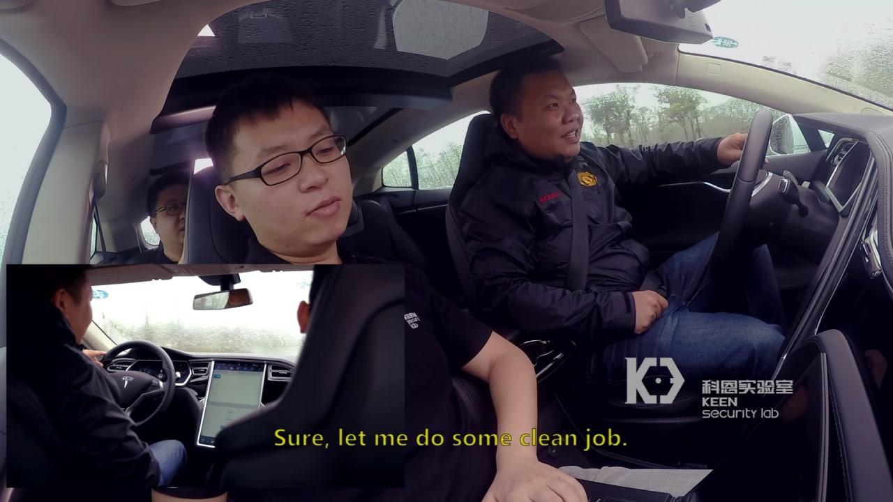 Hacker violano una Tesla Model S e la controllano a distanza (video)