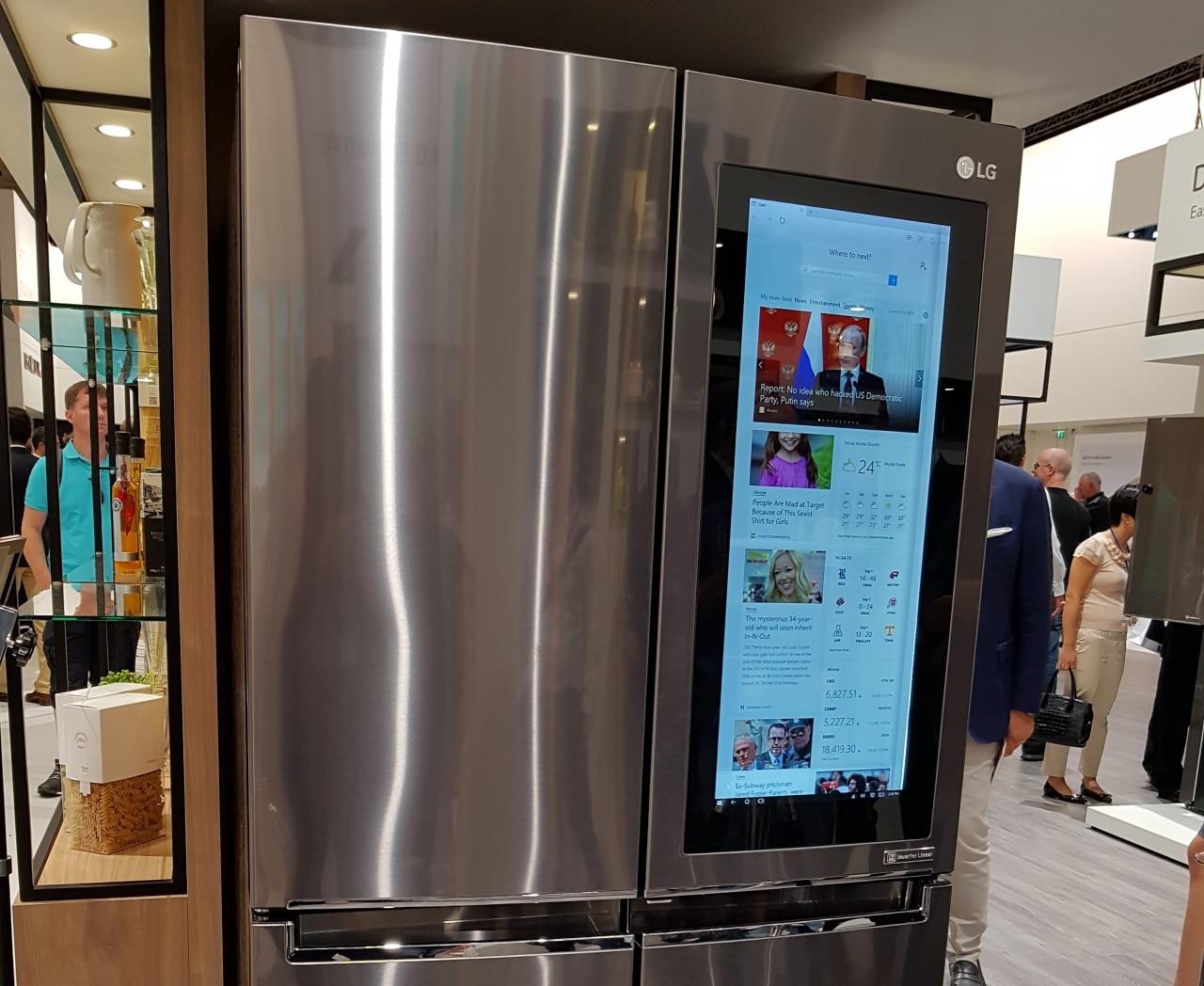 Il nuovo frigo smart di LG con Windows 10 | SmartWorld
