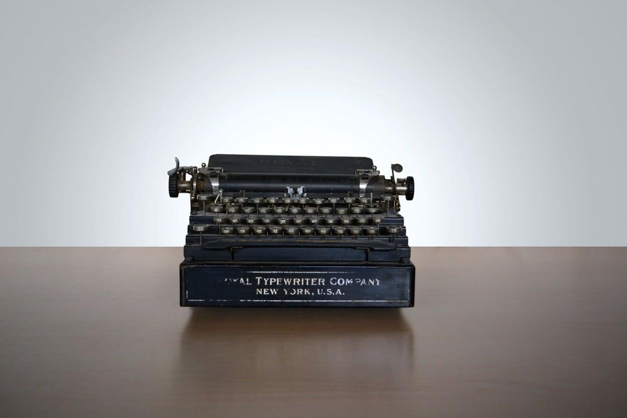Macchina da scrivere final
