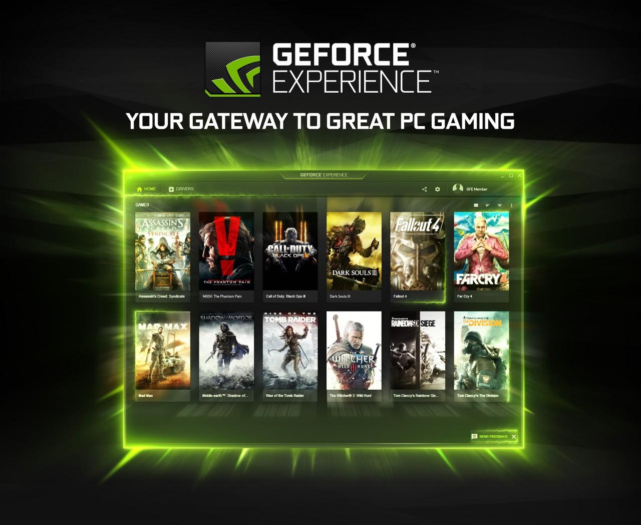 GeForce Experience 3.0 esce dalla beta: ecco la nuova suite per le NVIDIA GTX (video)