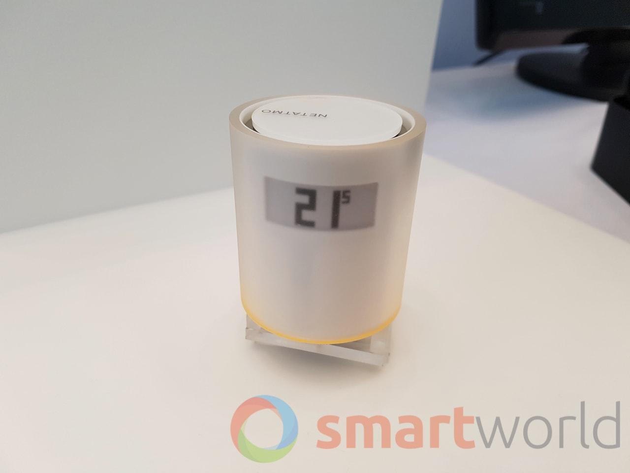 Netatmo presenta una termovalvola smart controllabile in remoto da smartphone
