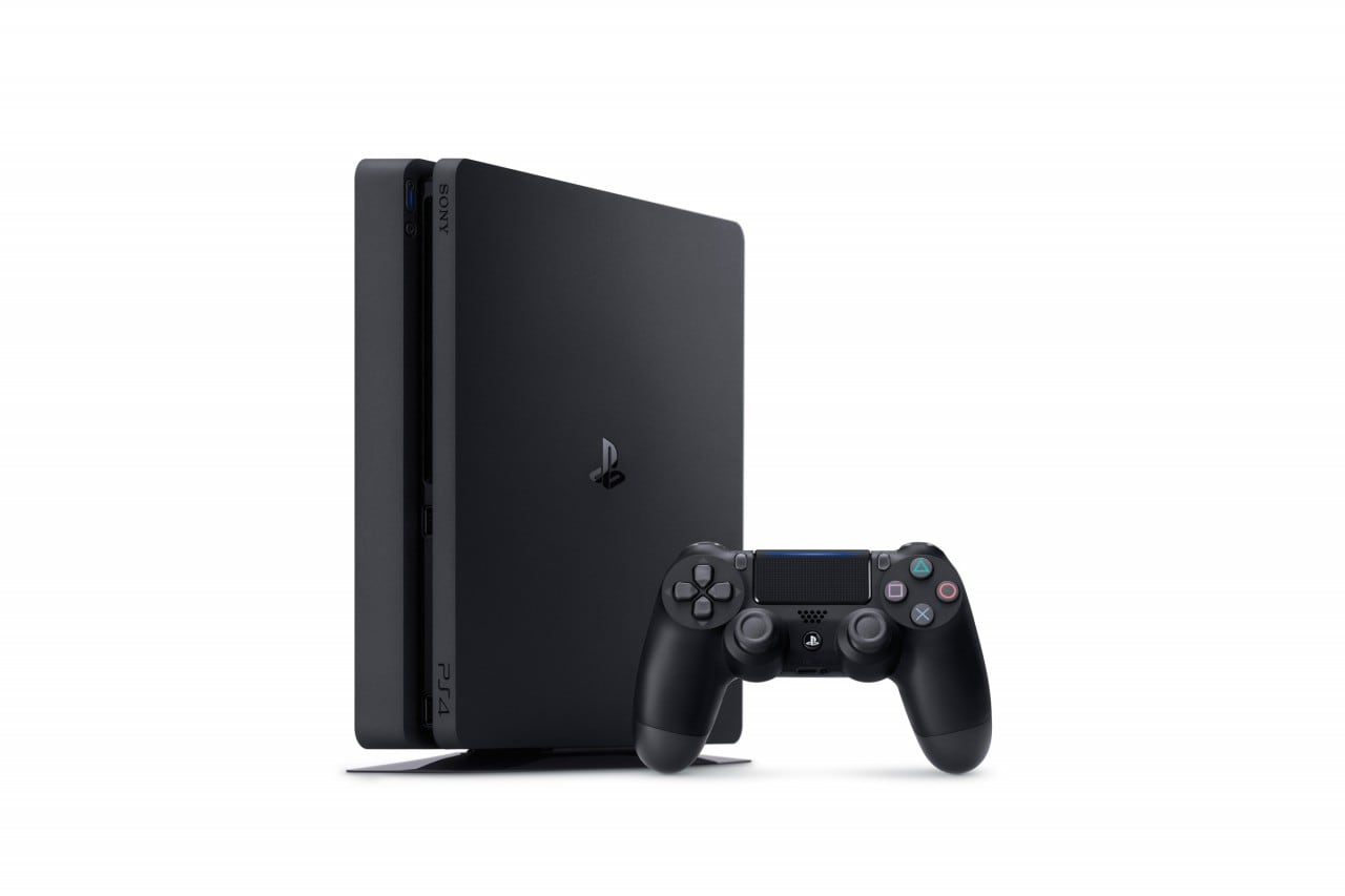 PlayStation 4 Slim Render - 1