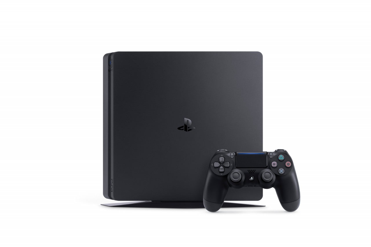 PlayStation 4 Slim Render - 2