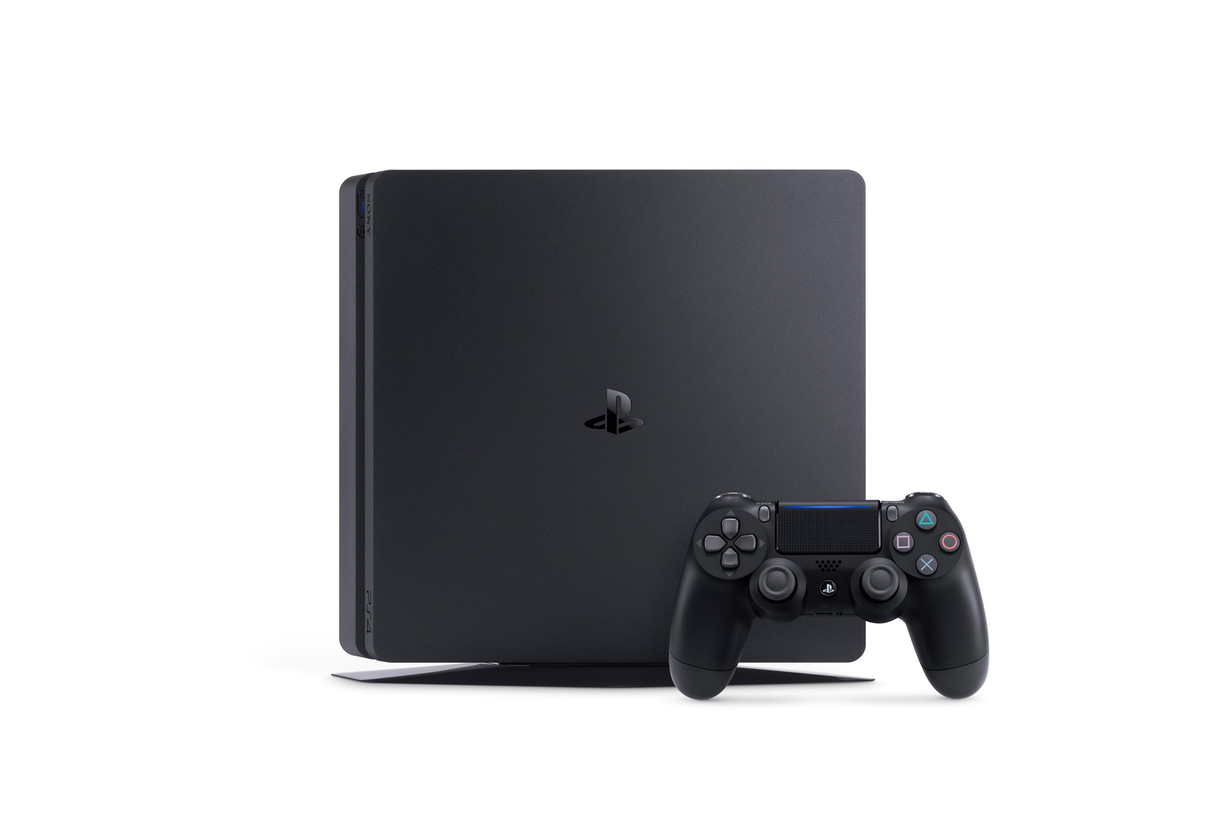 PlayStation 4 Slim Render – 2