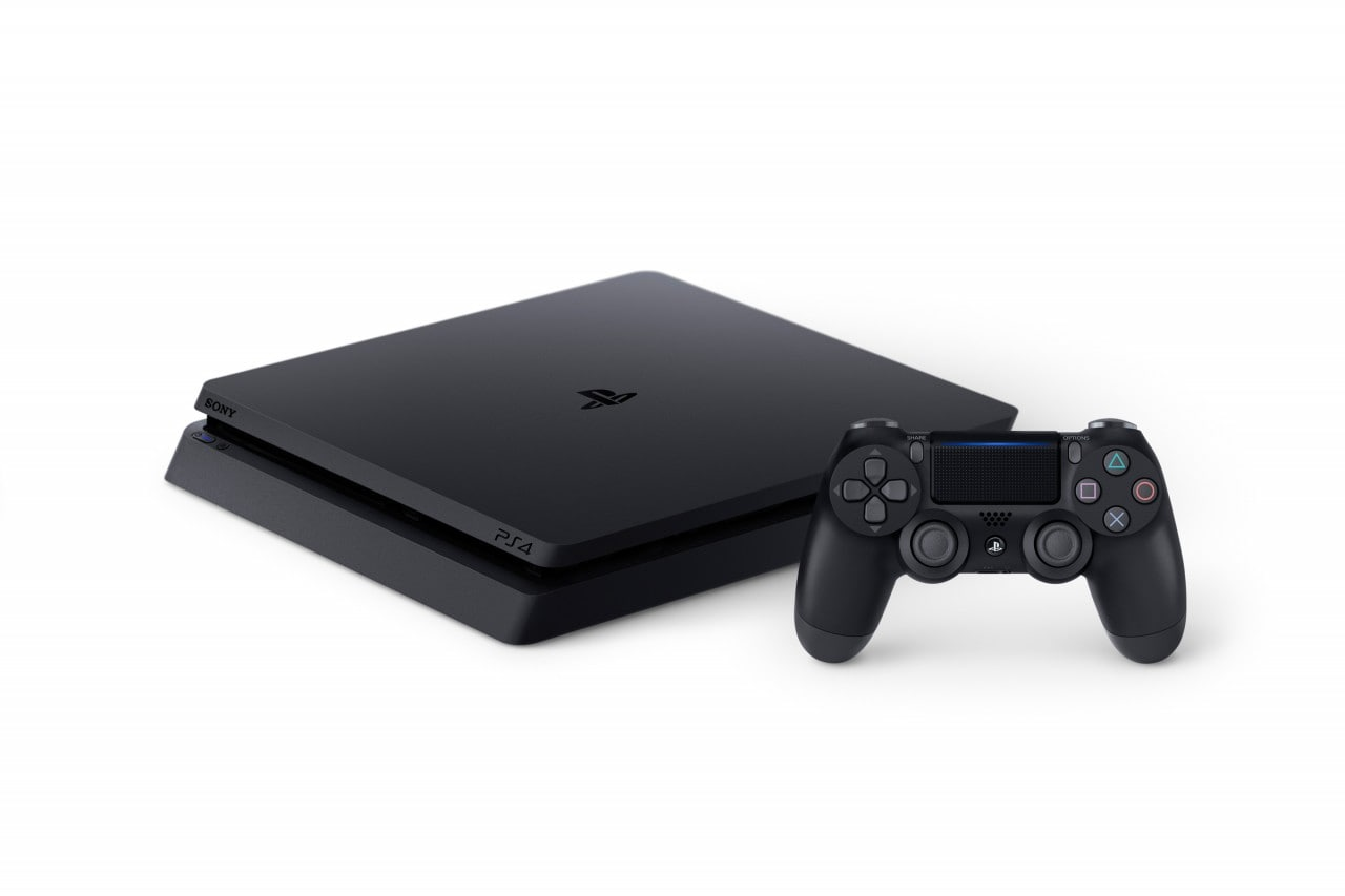 PlayStation 4 Slim Render - 3