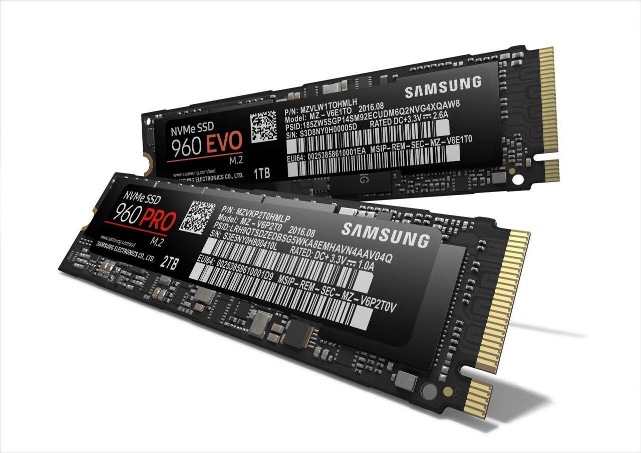 SSD Samsung 960 EVO e PRO_1
