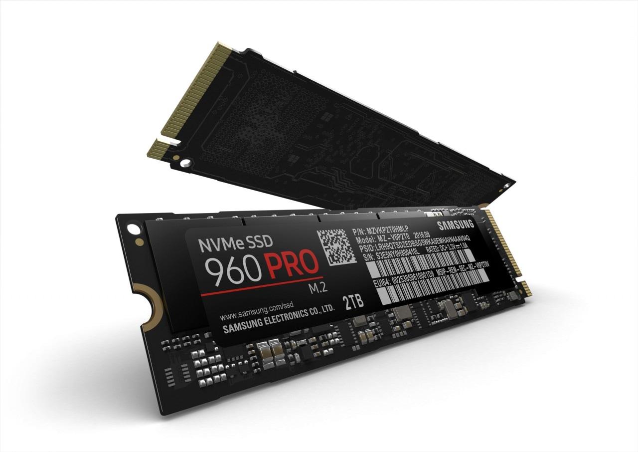 Samsung 960 PRO: l'SSD senza compromessi è potente, ma costa caro