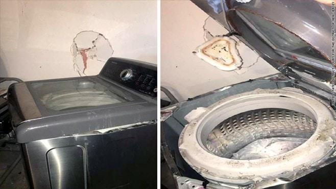 Samsung lavatrici esplodono