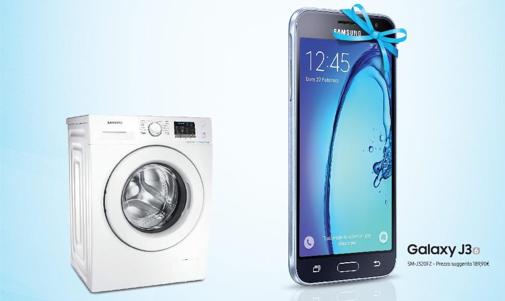 Samsung offerta lavatrice Galaxy J3