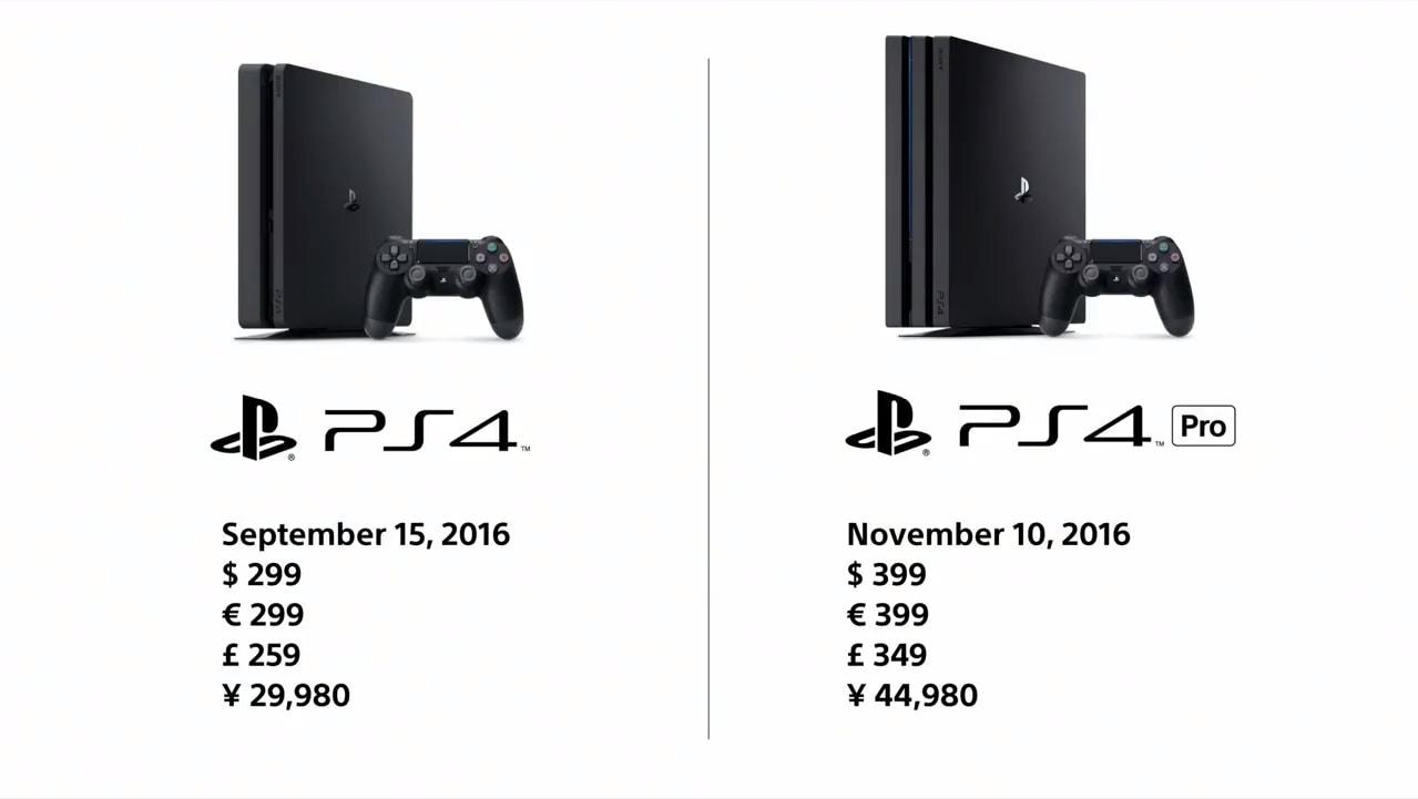 Uscita | Prezzo | PlayStation 4 Pro