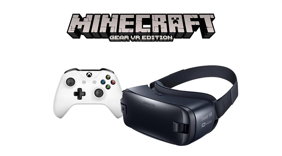 Usare il controller Xbox per giocare a Minecraft: Gear VR Edition? Da ottobre si potrà!