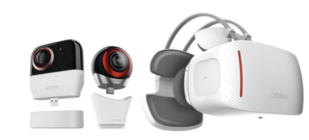 """Alcatel ad IFA 2016 ha portato anche una cam a 360° e un """"casco"""" VR (foto)"""
