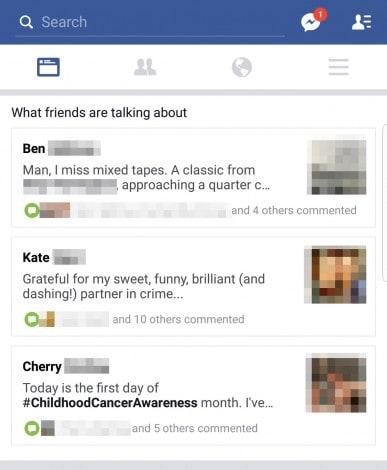 facebook box amici