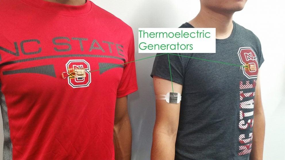 Questo piccolo cerotto è in grado di generare elettricità dal vostro calore corporeo (foto)