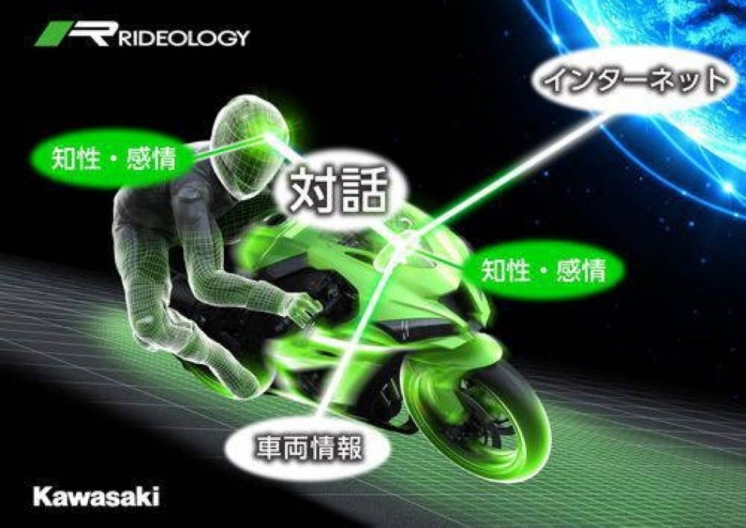 kawasaki moto intelligente