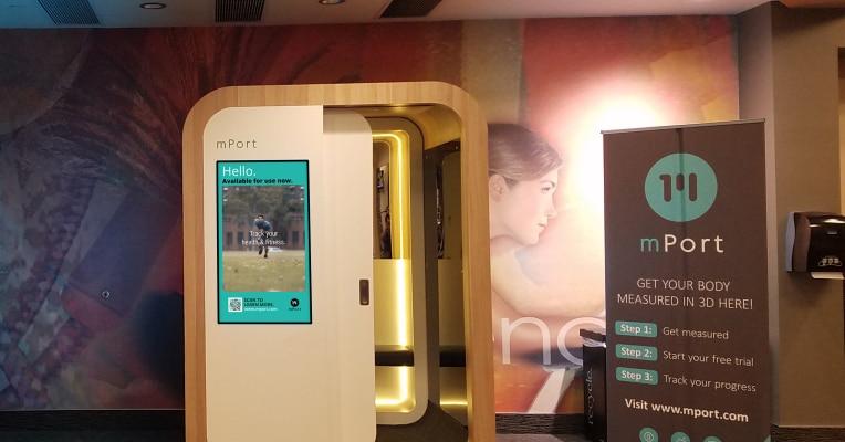 mPod, lo scanner 3D per le palestre che ti traccia in sette secondi