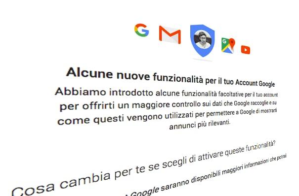 nuove funzionalità google
