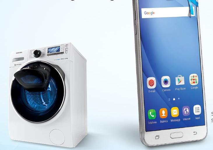 Samsung regala smartphone, tablet, TV o elettrodomestici con le sue lavatrici