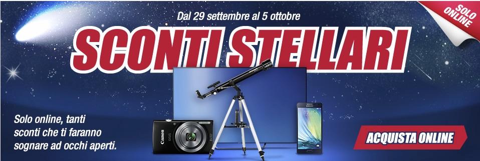 """Trony lancia gli """"Sconti Stellari"""" online su notebook, smartphone e TV"""