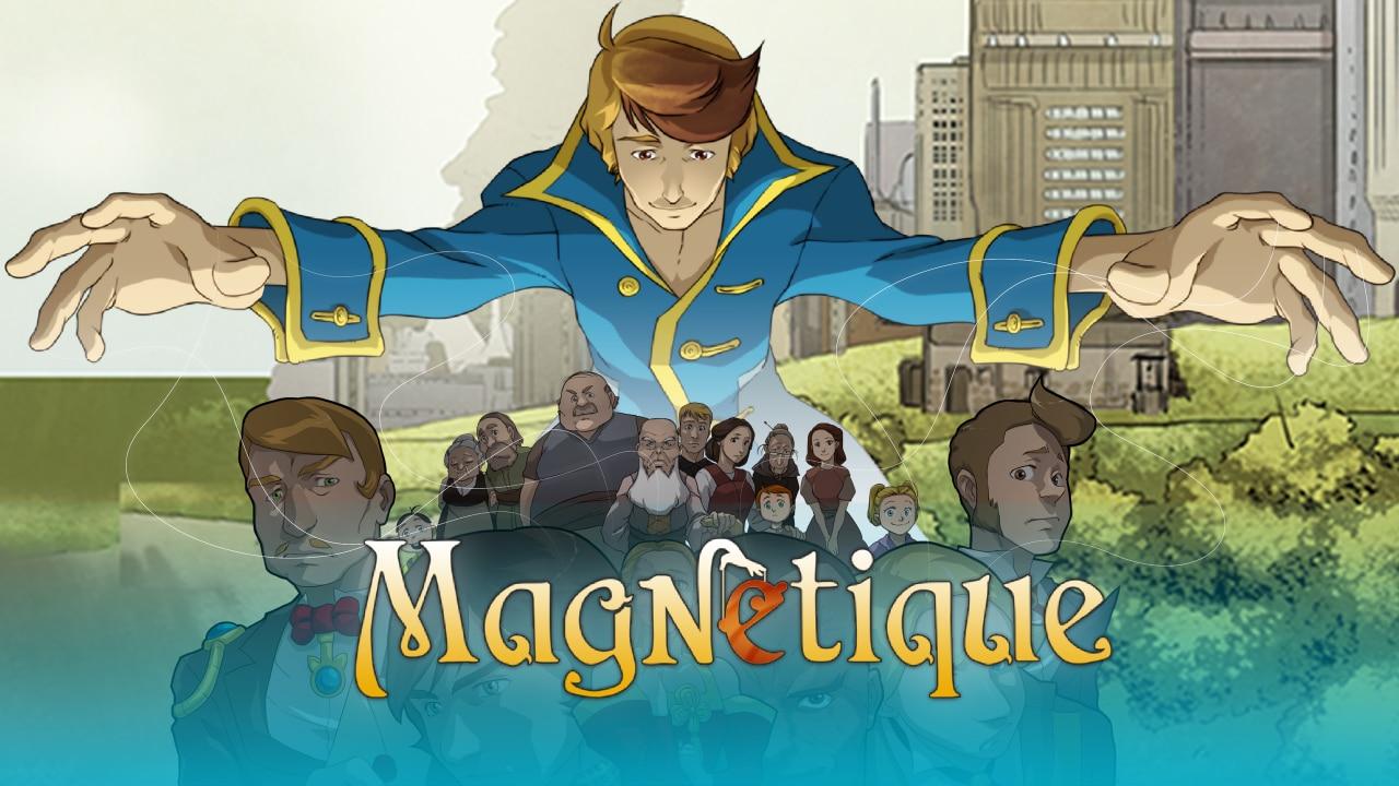 Il primo fumetto VR 3D a 360° si chiama Magnetique (video)