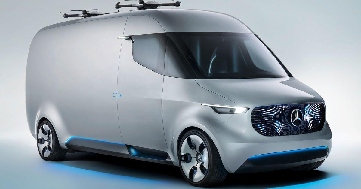 Anche Mercedes sta progettando droni per le consegne