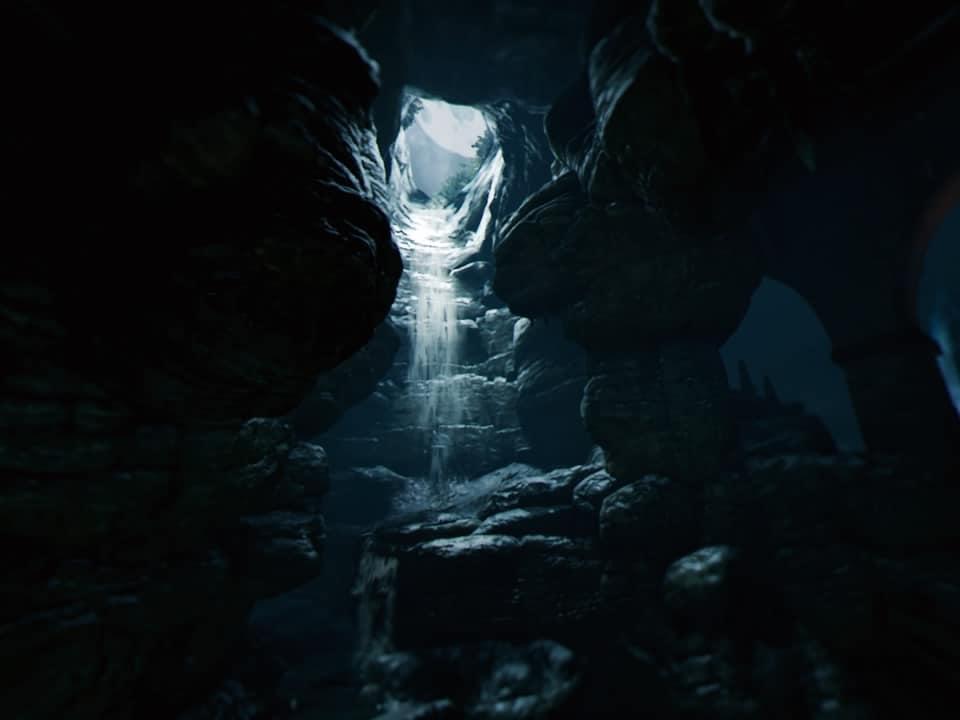 Recensione Batman: Arkham VR - L'ingresso nella batcaverna è davvero sorprendente.