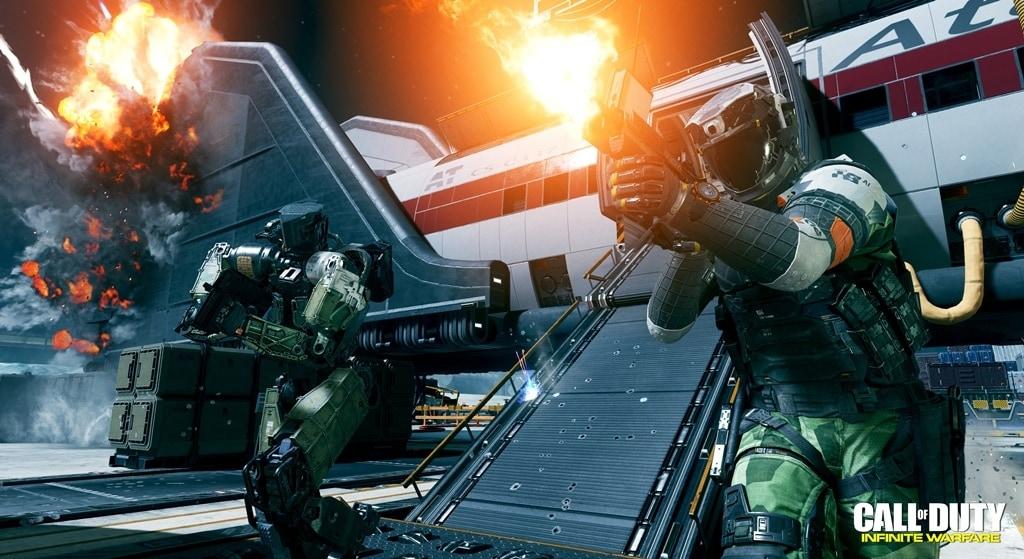 Vi ricordate la mappa Terminal di CoD? Vediamola in azione in Infinite Warfare (video)