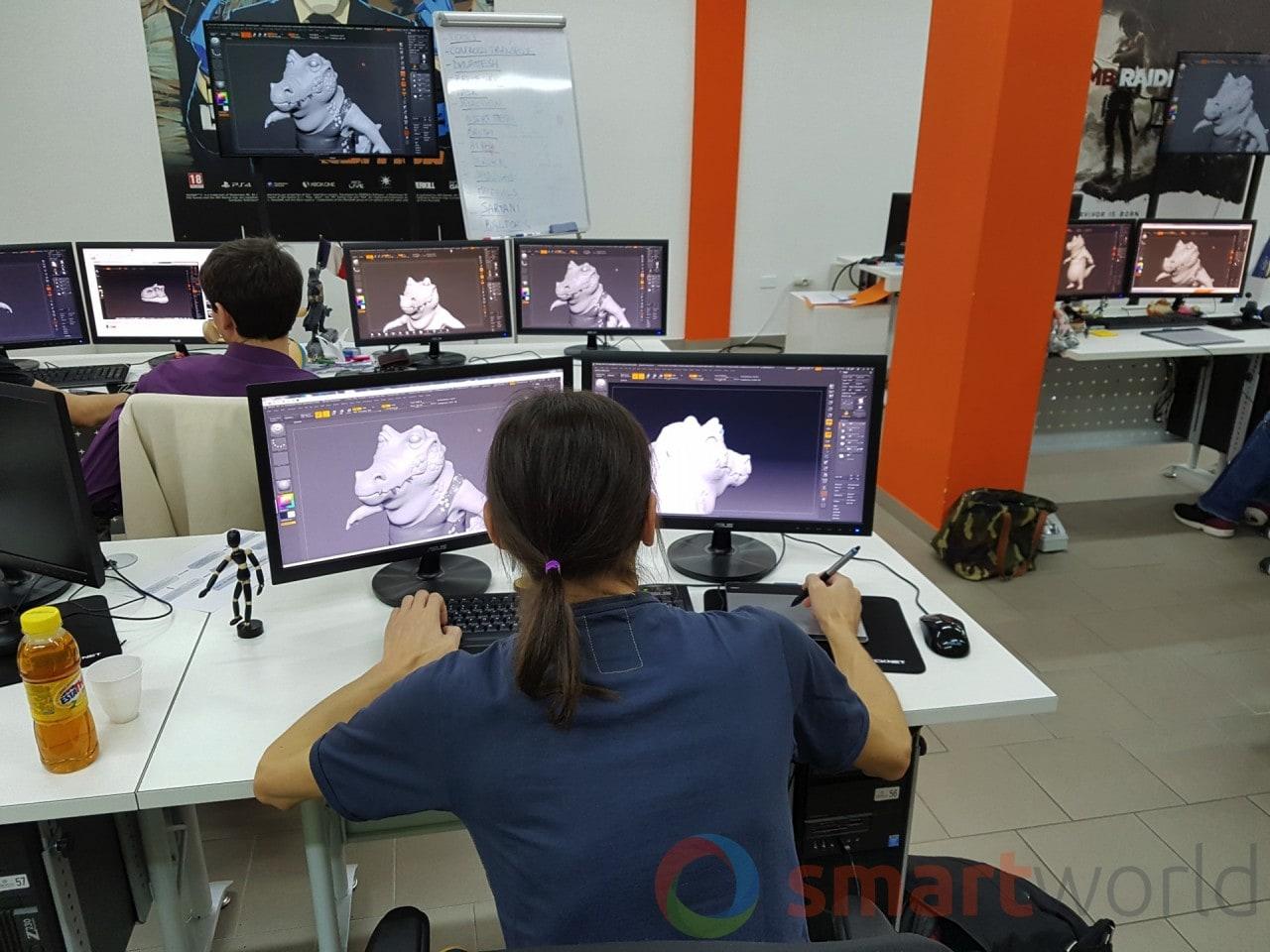 Digital Bros Game Academy Visita - 3