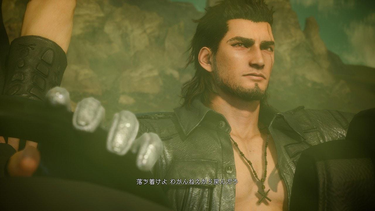 Gladiolus, uno degli amici del protagonista di Final Fantasy XV di cui ci ha parlato Tabata durante l'intervista.