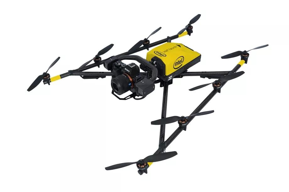 Il primo drone di Intel punta al mondo professionale