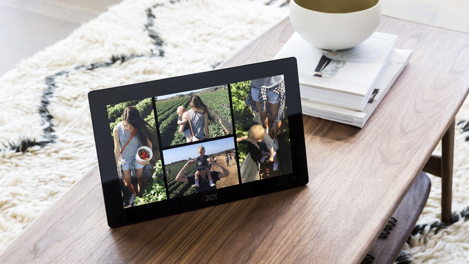 Joy, il tablet che in realtà una cornice per guardare le foto (video)