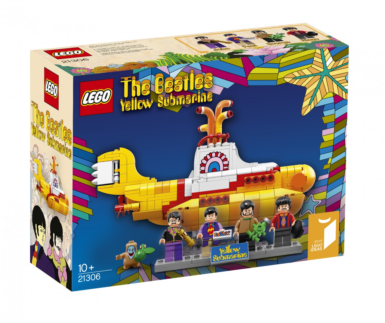 LEGO Yellow Submarine The Beatles - 3