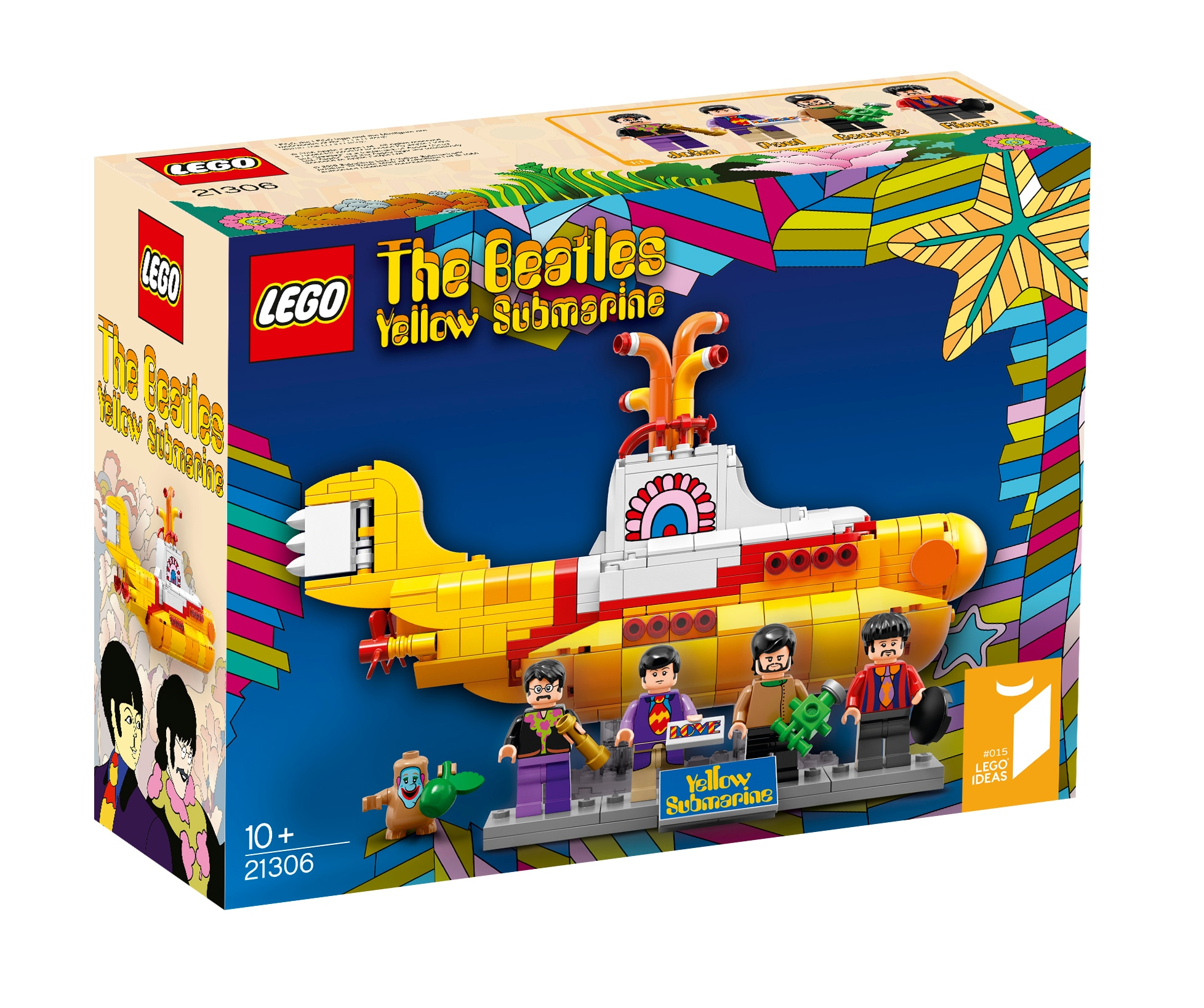 LEGO Yellow Submarine The Beatles – 3