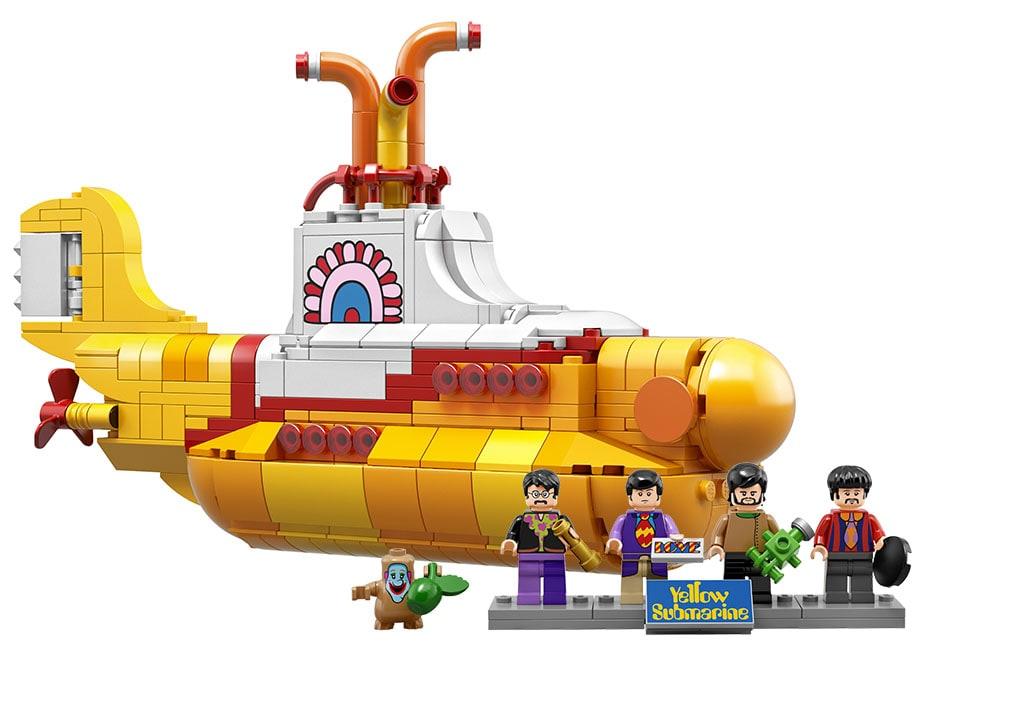 LEGO Yellow Submarine dei Beatles è ufficiale, e sarà in vendita dal 1 novembre (foto e video)