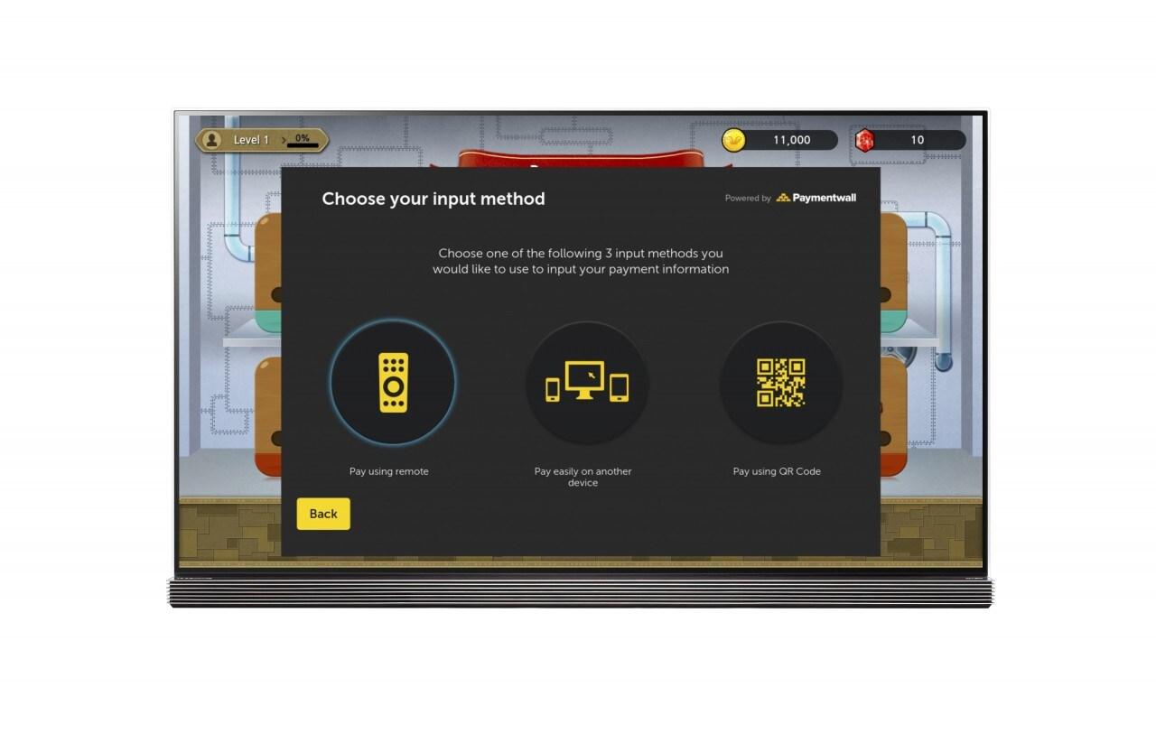 LG porta Paymentwall sulle smart TV webOS: 140 metodi di pagamento in 200 nazioni (foto)