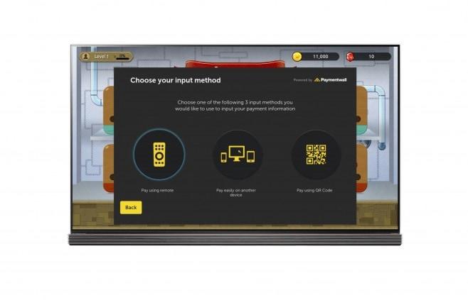 LG Smart TV webOS Paymentwall_2