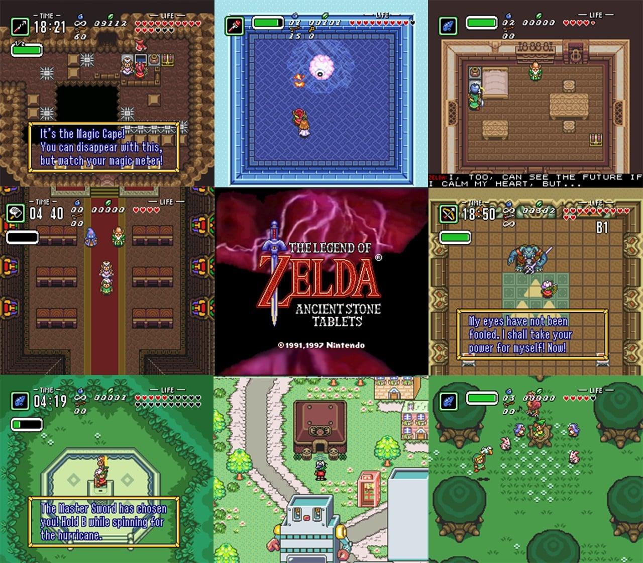 Difficilmente conoscerete The Legend of Zelda: Ancient Stone Tablets, ma ora potete giocarci!