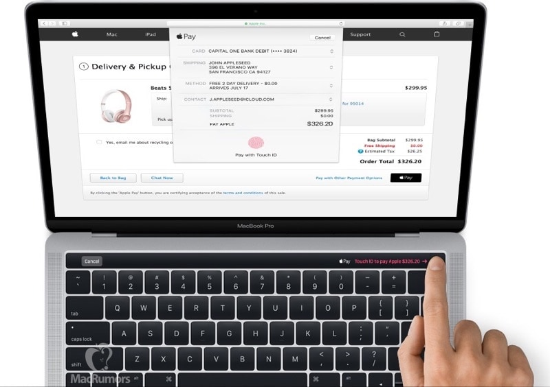 MacBook Pro 2016 barra touch_2