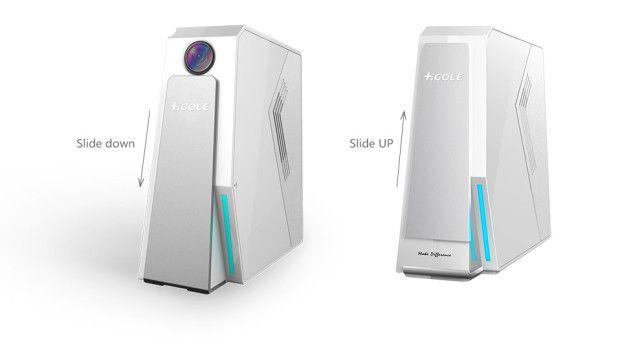 GOLE2 è un buffo mini PC (Windows o Android) che parte da 69$ (foto e video)