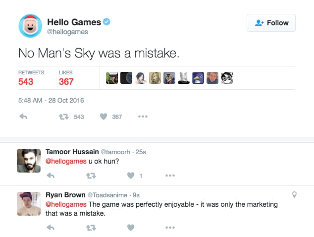 No Man's Sky Was a Mistake