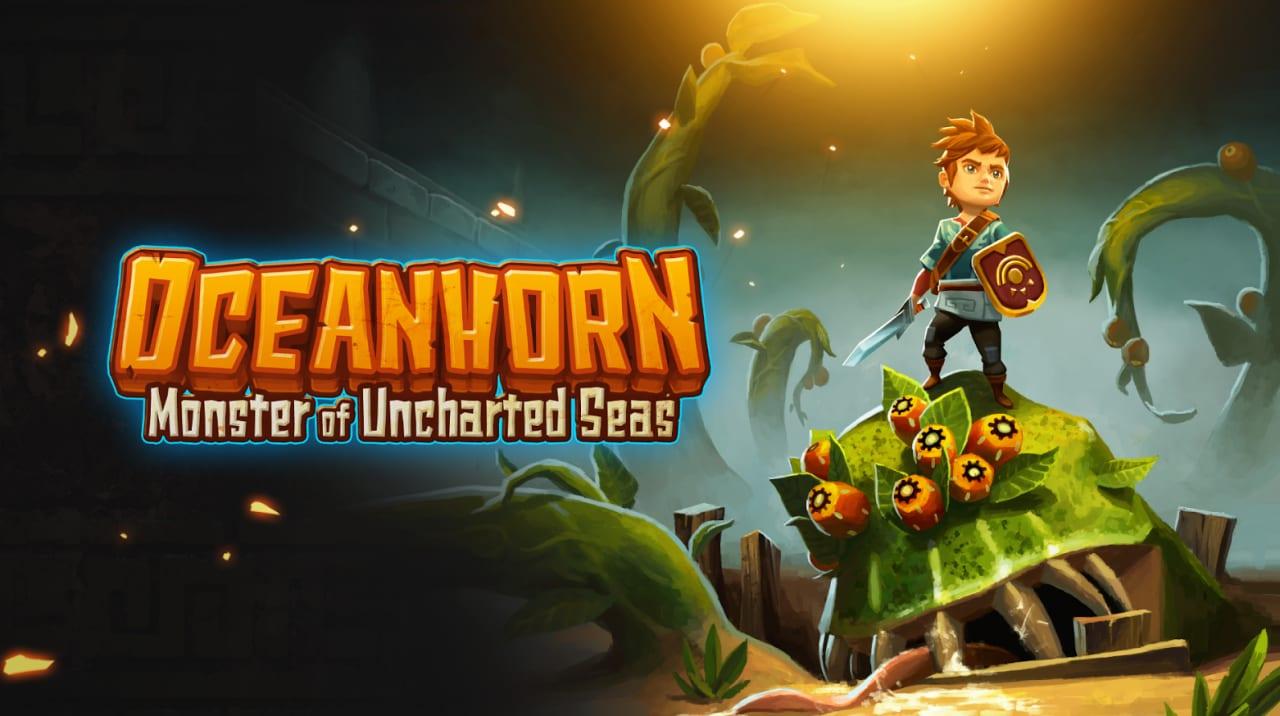 Oceanhorn Title Final