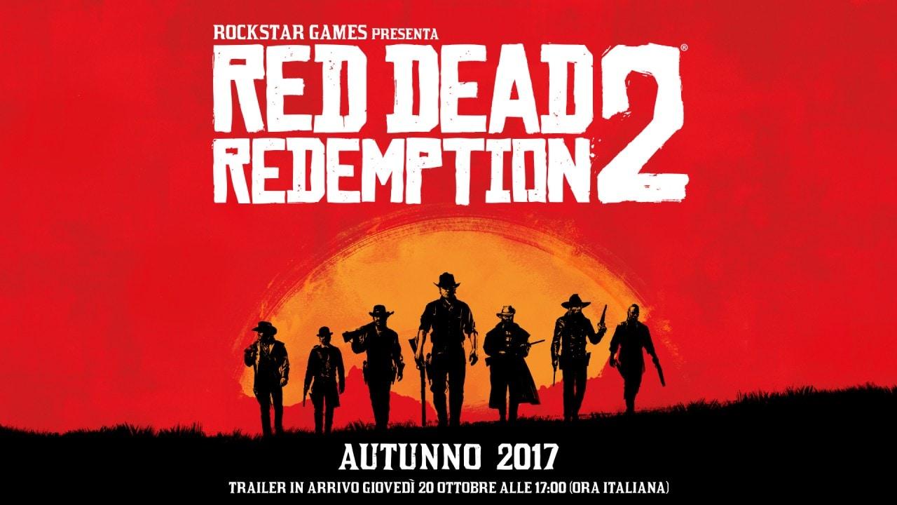 Ecco il primissimo trailer di Red Dead Redemption 2! (video)