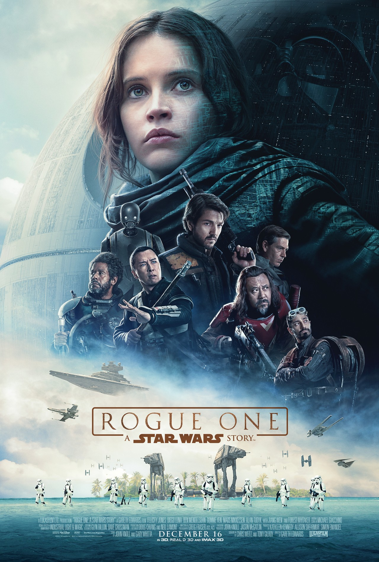 Rogue One A Star Wars Story Nuova Locandina Intera