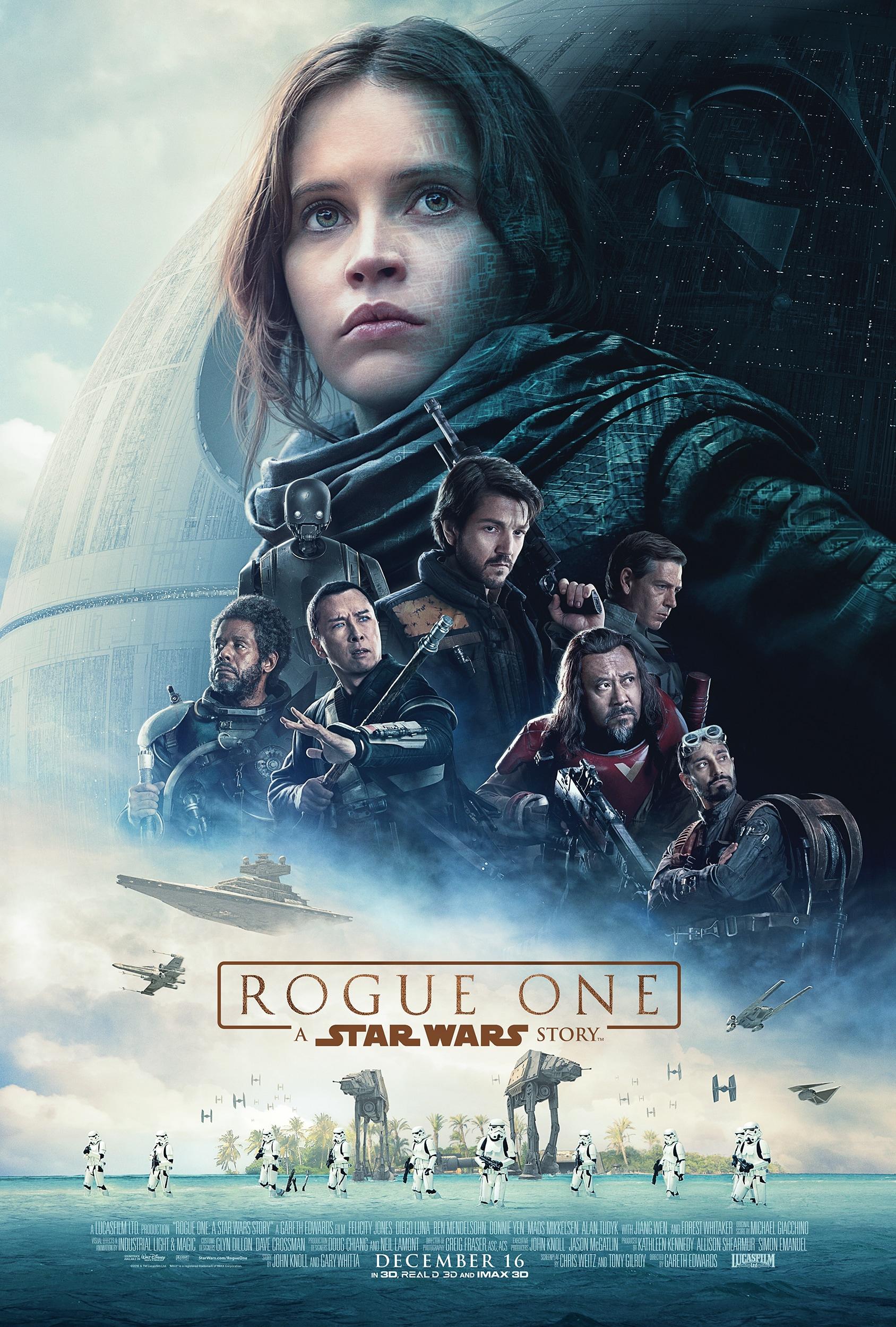 Rogue One A Star Wars Story Nuova Locandina Intera