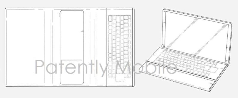 Samsung brevetti tablet pieghevole