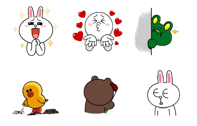 Stickers dell'app di messaggistica WeChat