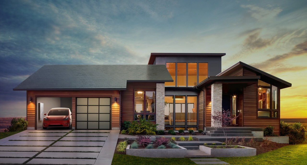 Tesla trasformerà il vostro tetto in un collettore di energia solare (foto)