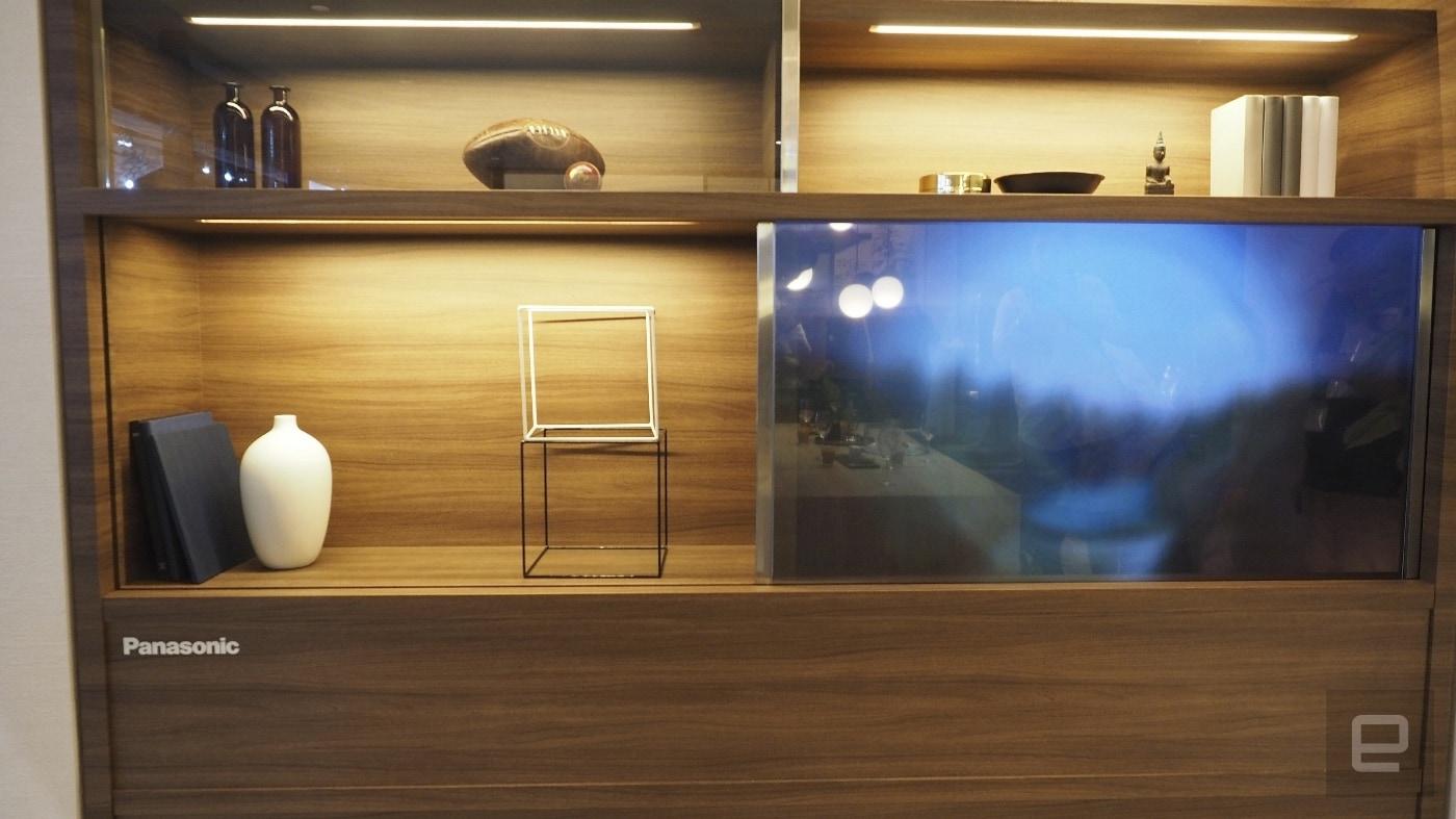 TV invisibile Panasonic_2