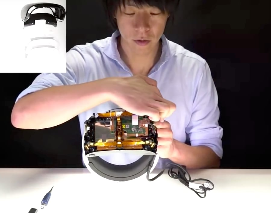 Teardown PlayStation VR