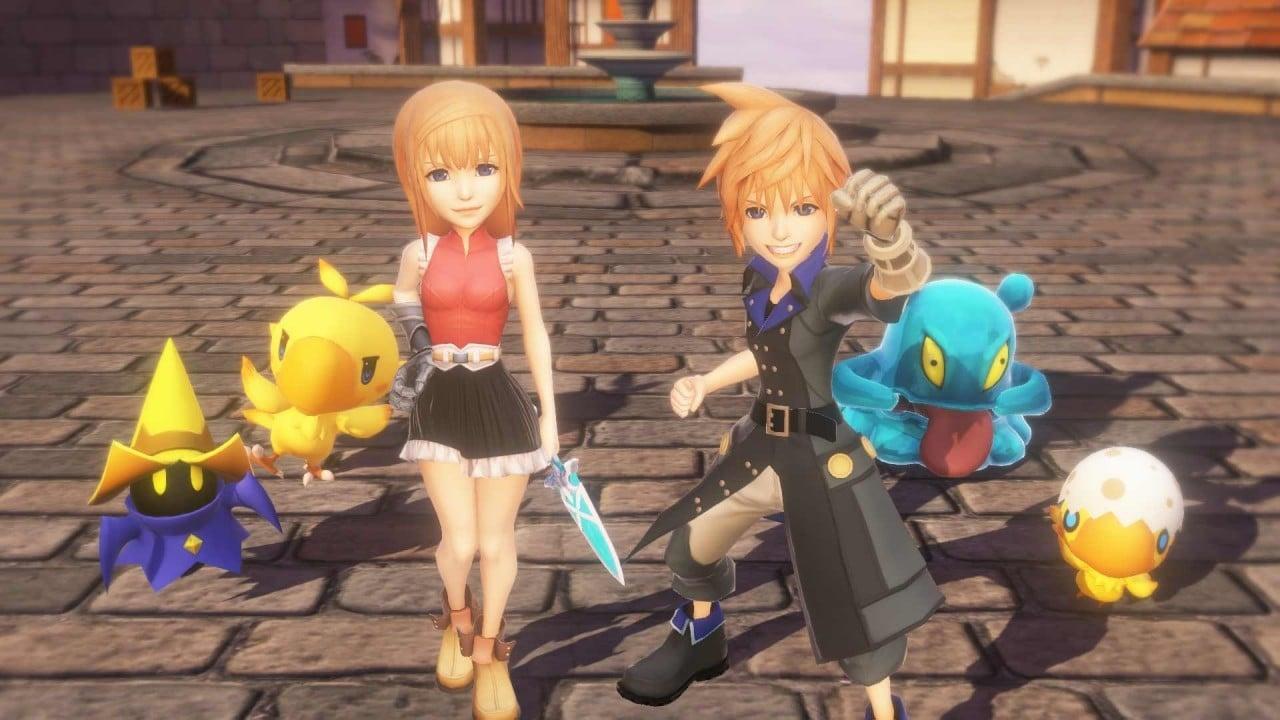 World of Final Fantasy Disponibile
